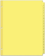 "10131 - NUMBERED TABBED INDEXES/DIVIDERS  (1-31 SERIES) FOR 8 1/2"" X 11"" SHEET SIZE"