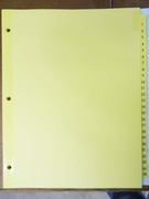 "10251 - NUMBERED TABBED INDEXES/DIVIDERS  (1-25 SERIES) FOR 8 1/2"" X 11"" SHEET SIZE"