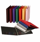 "12 PACK COLOR ASSORTMENT SET 1"" VIEW BINDERS"