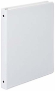 "12507 WHITE VIEW 1/2"" RING BINDER 8 1/2x 5 1/2"