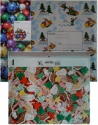 "13"" X 11 1/4"" DECORATIVE CHRISTMAS BUBBLE MAILERS (OUT OF STOCK!)"