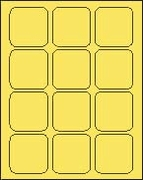 2 1/2 X 2 1/2 PASTEL YELLOW - L2525PY