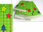 #2 MAILERS - 8 1/2 X 11 GREEN CHRISTMAS HOLIDAY BUBBLE MAILERS