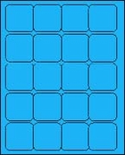 2 X 2 BRILLIANT BLUE - L2020BB