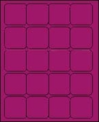 2 X 2 BRILLIANT PURPLE - L2020BP