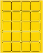 2 x 2 BRILLIANT YELLOW - L2020BY