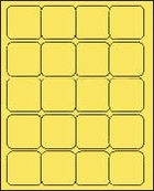2 x 2 PASTEL YELLOW - L2020PY