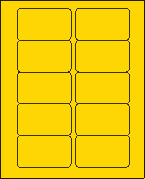 2 X 3 BRILLIANT YELLOW L2030BY