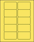 2 X 3 PASTEL YELLOW L2030PY