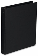 201 - BLACK BINDER FOR 6 x 9 1/2 SHEET SIZE - 1""