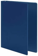 "202 - 1"" little ring binder in blue for 8 1/2x 5 1/2 sheet size"