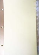 22088  8 tab clear indexes/dividers for 8 1/2 x 5 1/2