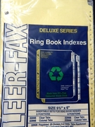 (22925)  A - Z indexes/dividers for 6 x 9 1/2