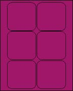 3 1/2 X 3 1/2 BRILLIANT PURPLE L3535BP