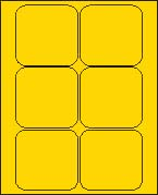 3 1/2 X 3 1/2 BRILLIANT YELLOW L3535BY