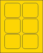 3 X 3 BRILLIANT YELLOW L3030BY