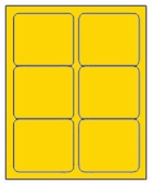 3 X 4 BRILLIANT YELLOW L3040BY