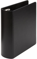 #345-42  HEAVY DUTY CASEBOUND BLACK BINDER FOR 6 X 9 1/2 SHEET SIZE - 2""