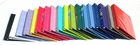 4 COLOR ASSORTMENT 1 1/2 INCH VIEW BINDERS