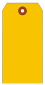 #4 FL ORANGE SHIPPING TAG PLAIN