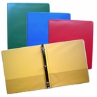"4 PACK COLOR ASSORTMENT  1"" VIEW RING BINDER"