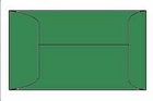 4160 Green coin envelope