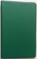 3 x 5 HUNTER GREEN 6 RING MEMO BINDER (46030)