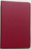 3 3/4 x 6 3/4 BURGUNDY 6 RING MEMO BINDER (46034)