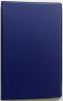 "3 3/4"" x 6 3/4"" BLUE 6 RING MEMO BINDER (46034)"