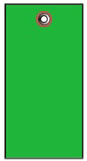 #5 GREEN TYVEK SHIPPING TAG PLAIN