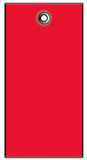 #5 RED TYVEK SHIPPING TAG PLAIN