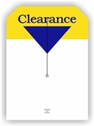 5 X 7 CLEARANCE TAG WITH SLIT