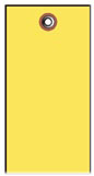#5 YELLOW TYVEK SHIPPING TAG PLAIN