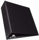 "600 - 2"" little ring binder in black for 8 1/2x 5 1/2 sheet size"