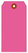 #7 FL PINK SHIPPING TAG PLAIN