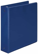 "7076 - 2"" little ring binder in blue for 8 1/2x 5 1/2 sheet size"