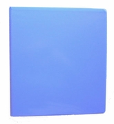 "8 1/2 X 11 - 1"" VIEW BINDER 362-14 BLUEBERRY"