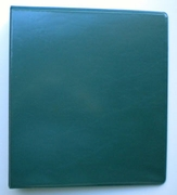 "8 1/2 X 11 - 1"" VIEW BINDER 362-14 HUNTER GREEN"