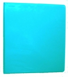 "8 1/2 X 11 - 1"" VIEW BINDER 362-14 TURQUOISE"