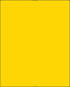 8 1/2 X 11 BRILLIANT YELLOW G4301BY