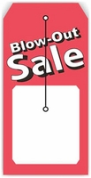 BLOW-OUT SALE TAG 2.375 X 4.75 WITH SLIT