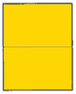 BRILLIANT YELLOW 5.5 X 8.5 G4302BY