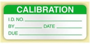 CALIBRATION LABEL