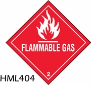D.O.T. HAZARDOUS MATERIALS LABELS