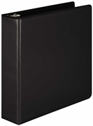 "1 1/2"" D-RING VIEW BINDER 386-34 BLACK"