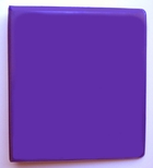 "4"" D-RING VIEW BINDER 386-54 PURPLE"