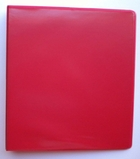 "4"" D-RING VIEW BINDER 386-54 RED"