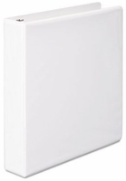 "4"" D-RING VIEW BINDER 386-54 WHITE"