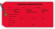 EVIDENCE IDENTIFICATION TAG - RED