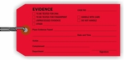 EVIDENCE TAG - RED
